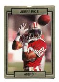 JERRY RICE SAN FRANCISCO 49ER'S 1990 TRADING CARD #248 WITH 3D EFFECT
